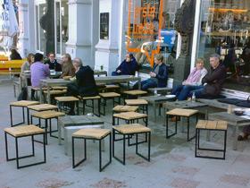Möbel im Innen- und Außenbereich